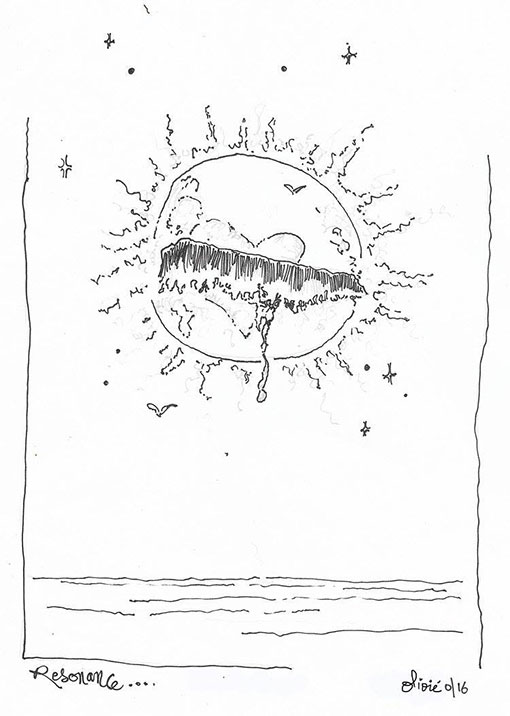 tainos guadeloupe olivie lafleur dessin