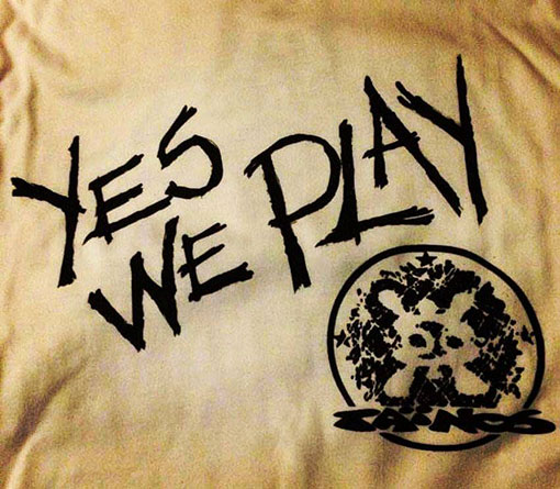 yes we play tainos guadeloupe tee shirt