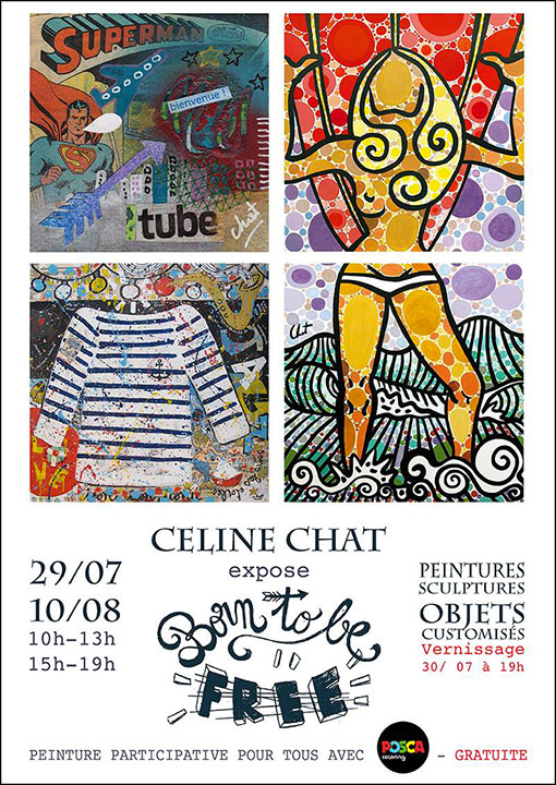 CELINE CHAT ART TAINOS GUADELOUPE