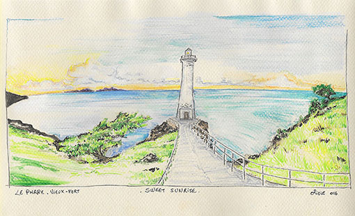 LE PHARE VIEUX-FORT TAINOS GUADELOUPE
