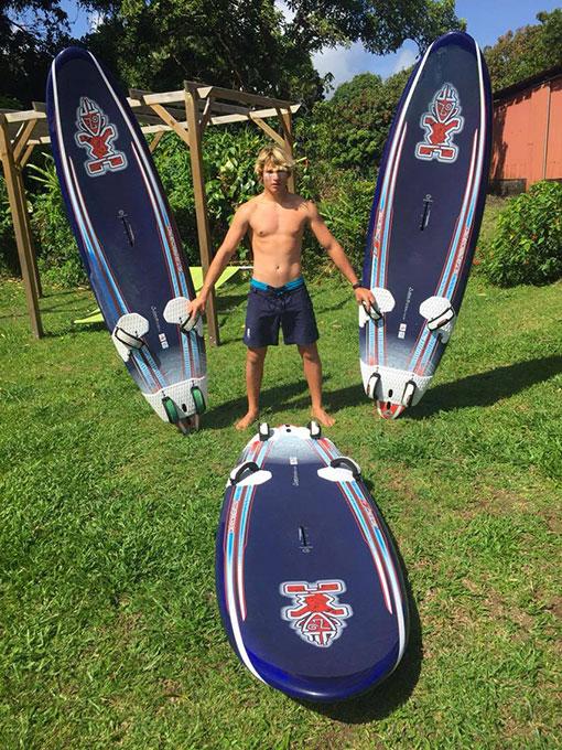 remi rault windsurf guadeloupe