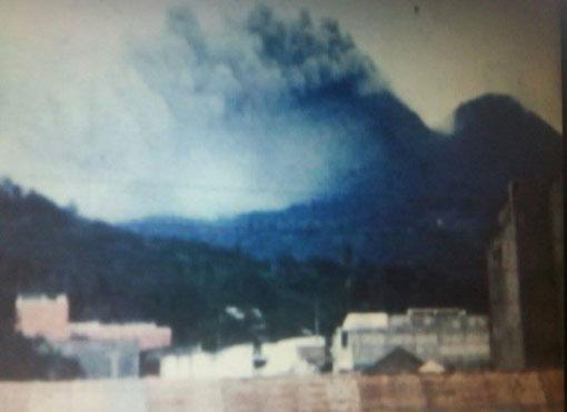 la soufriere guadeloupe eruption 1976 tainos