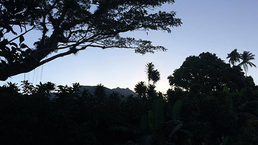 sunrise la soufriere tainos guadeloupe