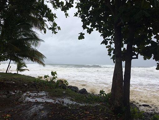 barri trois rivières tempête mathew tainos guadeloupe