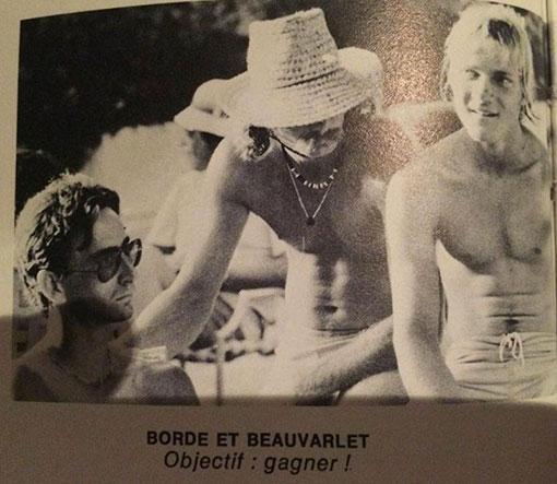 beauvarlet ronde du rhum 1981 windsurf tainos guadeloupe