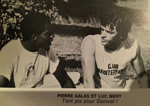 PIERRE GALAS LUC MERY RONDE DU RHUM 1981 WINDSURF TAINOS GUADELOUPE