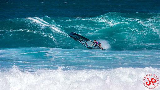 sarah Hauser tainos guadeloupe windsurf girl