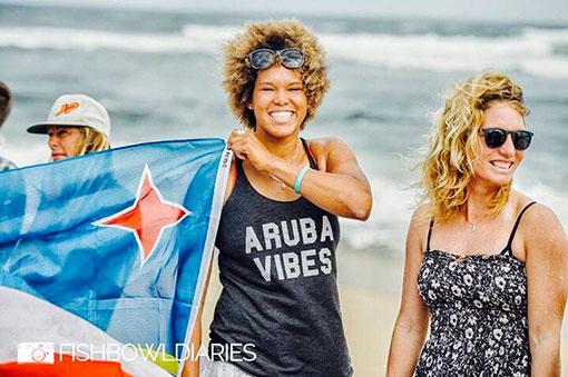 sarah quita offringa aruba tainos guadeloupe windsurf girl