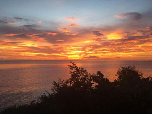 sunset tainos guadeloupe vieux-habitants boulogne